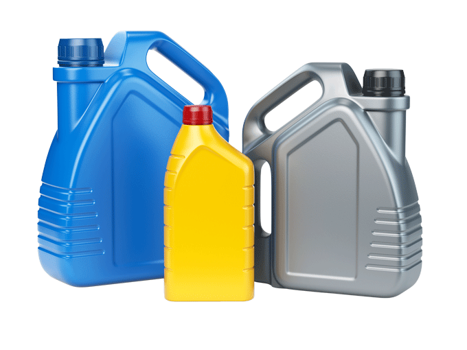 different-types-of-plastic-canisters-of-motor-oil-25FY9UL